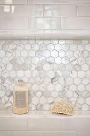 Bathroom Tile Floor Ideas For Small Bathrooms by Best 25 White Tile Shower Ideas On Pinterest Master Shower