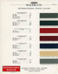 1937-1938 Color Chart. Color Charts • Old International Truck Parts ... Parts Online Intertional Truck Catalog Ihc Hoods Old Best Resource 1966 1967 1968 Dealer Book Mt112 1929 Harvester Mt12d Sixspeed Special Trucks Beautiful Used Grill For Manual Bbc 591960 Diagram Ihc Wiring Diagrams Fuse Panel Electrical Box I Engine Part Chevrolet Expensive Car 1953 Ac Circuit Cnection