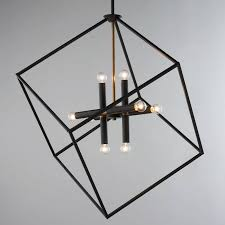 chandelier industrial track lighting light fixtures farmhouse