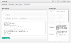 Add New Page Template To Wordpress Theme