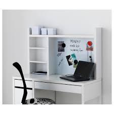 Ikea Study Desk With Hutch by Micke Add On Unit High Black Brown Ikea