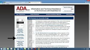 Where Can I Find ADA Building Code Information
