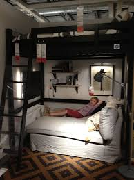 queen loft bed with desk underneath i made that pinterest