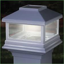 Home Depot Deck Lighting Solar by Lighting Solar Deck Lighting Post Caps Solar Post Caps 4x4 White