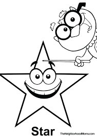 Shapes Coloring Pages Momjunction Printable Page Triangle Star For Preschoolers Pdf Winter