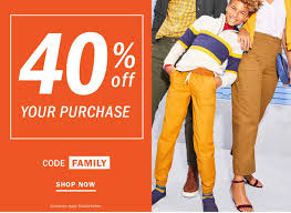 Old Navy, Gap And Banana Republic: Save 40% With Coupon Code -