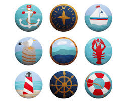 Nautical Drawer Pulls Canada by Lighthouse Knobs Etsy