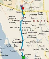 The Golden Years Road trip from San Carlos to Los Mochis