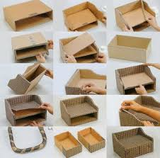 DIY Cardboard Box Ideas