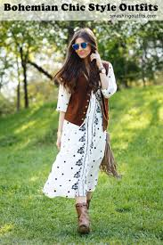 Unchain Your Soul With 25 Bohemian Chic Style Outfits