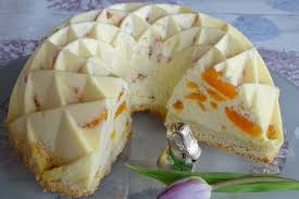 mandarinen schmand pudding kuchen calisandra