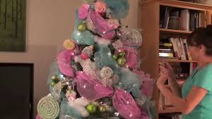 Gumdrop Christmas Tree Garland by Candyland Tree Tutorial Youtube