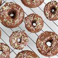 Pumpkin Spice Dunkin Donuts Vegan by Triple Chocolate Vegan Gf Doughnuts From Baked Doughnuts For
