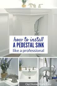 18 Inch Width Pedestal Sink by Best 25 Pedestal Sink Ideas On Pinterest Pedistal Sink
