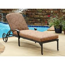 home styles floral blossom outdoor chaise lounge chair with