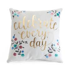 Lauren Conrad Celebrate Throw Pillow
