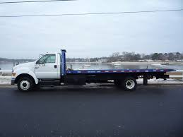 USED 2009 FORD F650 ROLLBACK TOW TRUCK FOR SALE IN IN NEW JERSEY #11279