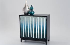 Ombre Blue Cabinet
