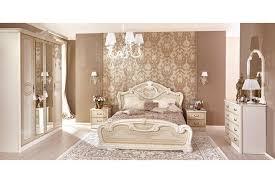 barock schlafzimmer granda in beige 6 teilig