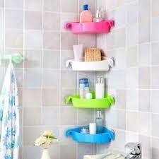 details zu km badezimmer ecke aufbewahrung dusche rack regal ordner korb ordentlich saug