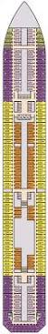 Carnival Conquest Deck Plans by Oceanview Cabin 2320 On Carnival Conquest Category 6c