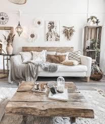 livingroom boho stil dekor wohnzimmer wanddekoration