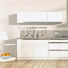cuisine plan de travail gris quel plan de travail choisir pour une cuisine blanche but