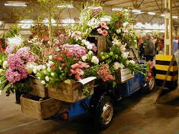 Truck And Flower Crates