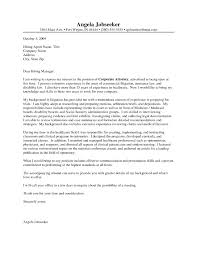 Sample Cover Letter For Law Firm Internship