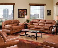 Brown Leather Couch Living Room Ideas by Amusing Leather Living Room Furniture Sets Design U2013 Genuine