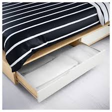 Ikea Headboard And Frame by Ikea Mandal Bed Frame With Storage May Be Completed With Mandal
