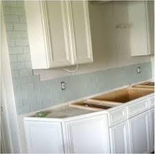 1x3 inch matte cloud white glass subway tile kitchen remodel