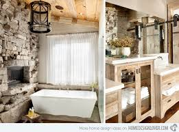 Rustic Bathtub Tile Surround by 15 Bathroom Designs Of Rustic Elegance Home Design Lover