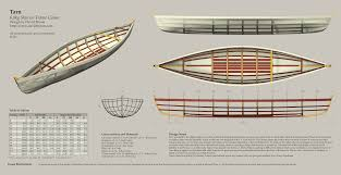 free skin on frame canoe plans all things wood pinterest