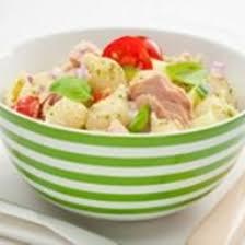 recette salade de pâtes au thon et au basilic