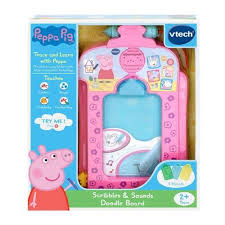 peppa pig vtech scribble and sounds doodle board