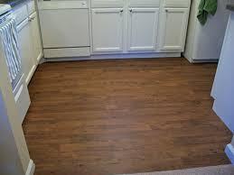 Vinyl Plank Flooring In Beadboard Kitchen
