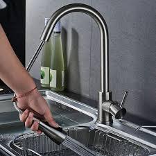 küchenarmatur m 2 strahlen wasserhahn ausziehbar mit brause mischbatterie spültischarmatur edelstahl armatur küche