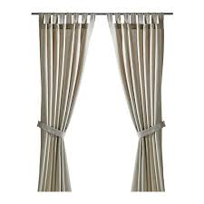 Outdoor Patio Curtains Ikea by Lenda Curtains With Tie Backs 1 Pair 55x118