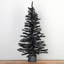 24 Black Artificial Canadian Pine Tree