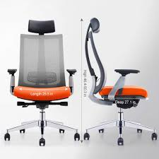 GAOAG Ergonomic Office Chair High Back Lumbar Support Adjustable Swivel  Best 2019 Luxury Mesh Chair With Armrest Headrest Orange Grey Best Ergonomic Office Chairs 2019 Techradar Ergonomic 30 Office Chairs Improb Dvo Spa Design Fniture For The 5 Years Warranty Ergohuman Enjoy Classic Ejbshbmf Smart Chair Comfortable Gaming Free Installation Swivel Chair 360 Degree Racing Gaming With Footrest Gaoag High Back Lumbar Support Adjustable Luxury Mesh Armrest Headrest Orange Grey Lower Pain In India The 14 Of Gear Patrol 8 Recling Footrest Bonus