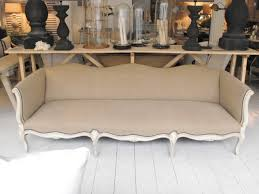 interiors canapé anton k grand 20th century canape in antique linen