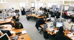 travail en bureau espace de travail les limites du tout ouvert