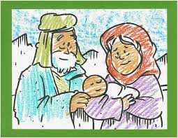Use This Coloring Page To Tell The Story Of Abraham And Sarah Birth Isaac