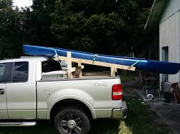 100 Pickup Truck Rack DIY Kayak Stuff To Make Pinterest Kayak Rack For