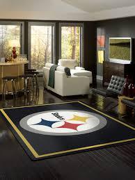 Milliken Carpet Tiles Specification by Milliken Area Rugs Nfl Spirit Rugs 00974 Pittsburgh Steelers