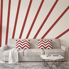 deko klebestreifen 9 cm x 3 m 3 st farbe rot