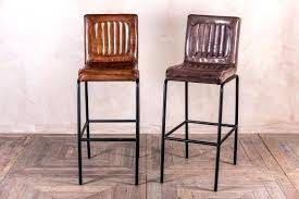 Counter Height Stool Covers by Bar Stool Black Leather Bar Stools With Backs Brown Leather Bar