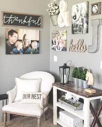 Marvelous Idea Rustic Living Room Wall Decor Plus Peenmedia Com Nice Diy Farmhouseving And Design Ideas