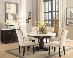 Acme 72845 Nolan 7Pcs White Faux Marble Top Round Dining Table Set ... Ashley Signature Design Charrell 5 Piece Round Ding Table Set With Belfort Essentials Camelia White Rectangular Glass Hanover Traditions 5piece Patio Outdoor 4cast F2094 F1052 Bbs Fniture Store Coaster Shoemaker Value City Interni Mirage Clear Top Tables A Modern Practical Option Metal Upholstered Chairs Room Black Kitchen High Tall Marble On Carousell